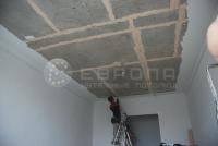Монтаж натяжного потолка. Этап 2