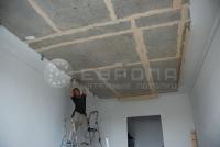 Монтаж натяжного потолка. Этап 4
