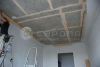 Монтаж натяжного потолка. Этап 5