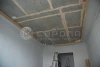 Монтаж натяжного потолка. Этап 7